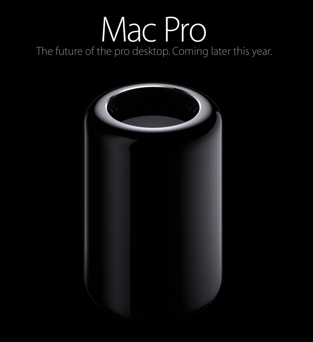 Cube 2 AKA neuer Mac Pro /via apple.com