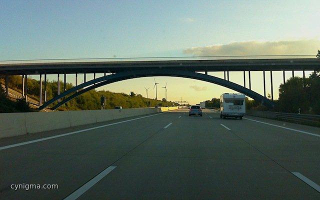 Bogenbrücke A9