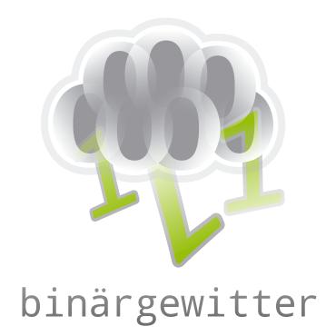 Binärgewitter Logo