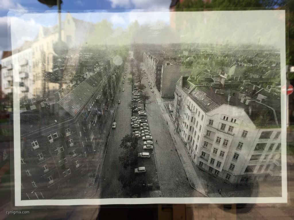 die Bänschstrasse zu DDR-Zeiten