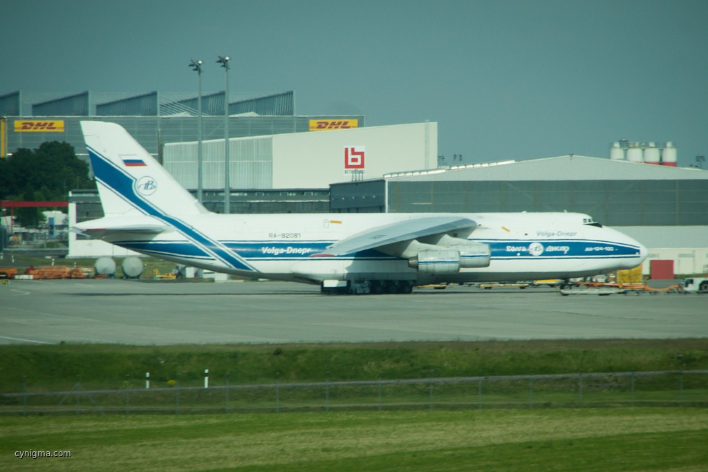 An-124 at the Leipzsch Airport