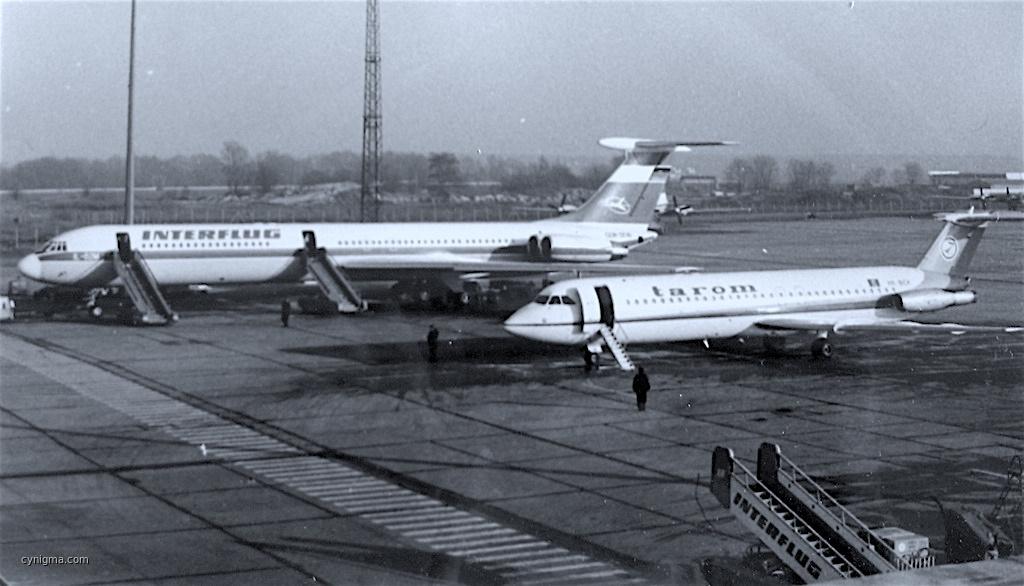 IL-62M und BAC 1-11, SXF, damals