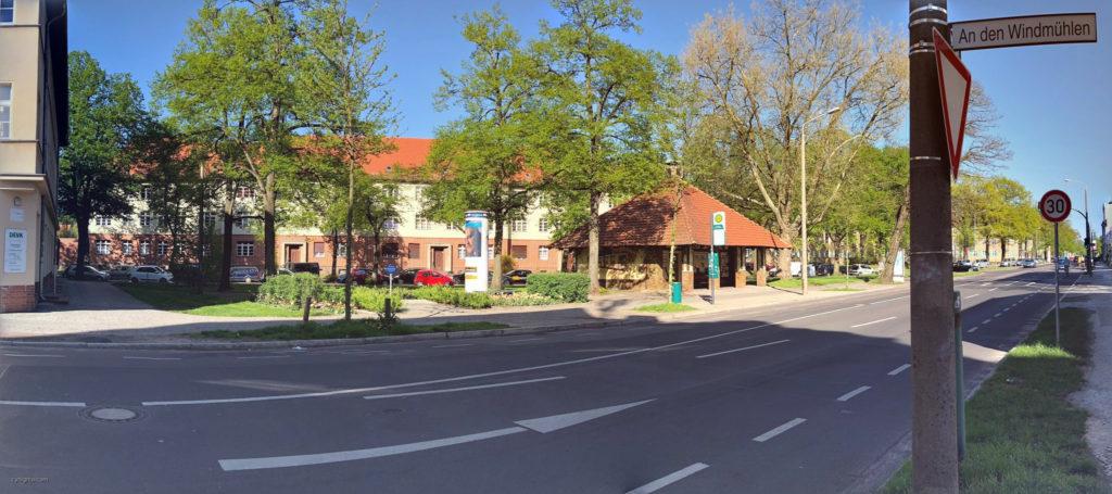 quasi die ganz alte Heimat: Babelsberg, Am Findling - RFT, Fahrradladen, M.K.