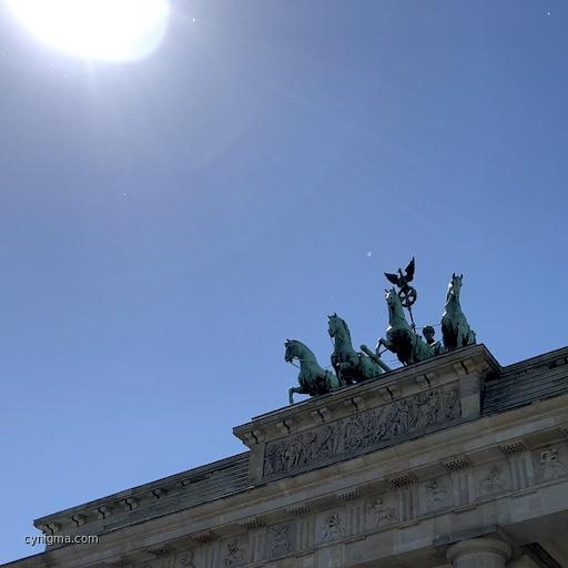 neulich an einer Berliner Sehenswürdigkeit